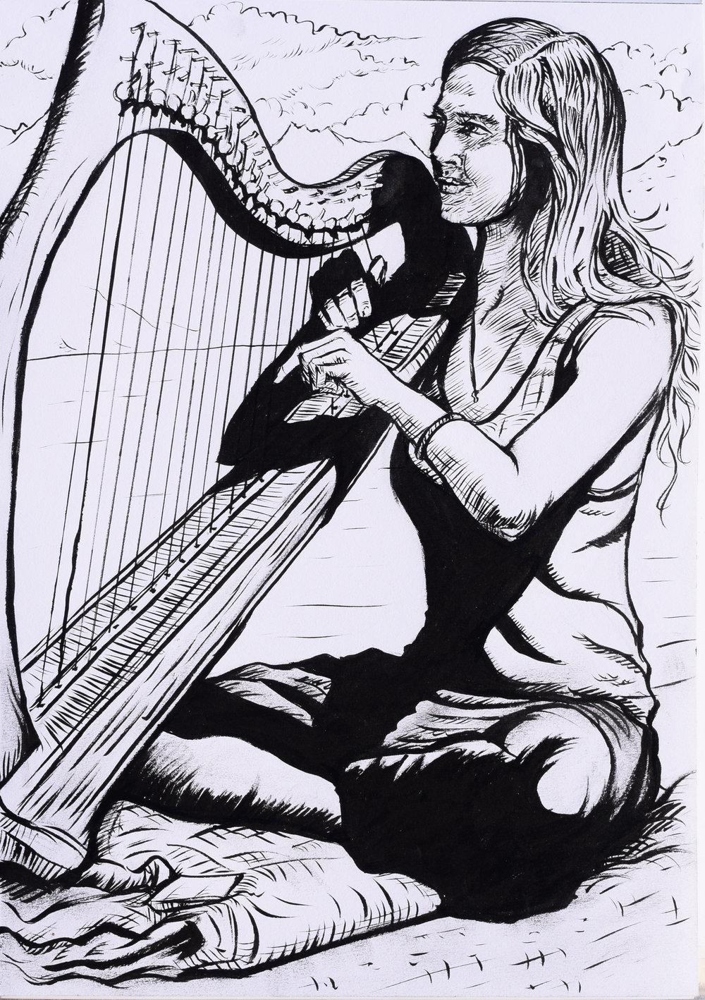 'The Harpest' - robbieallenart