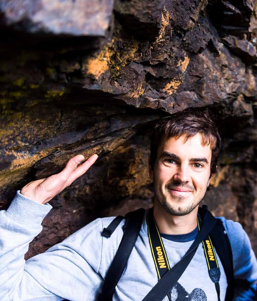 Photo of me on the Twin Falls Walk, Springbrook Mountain, Gold Coast, QLD, Australia.