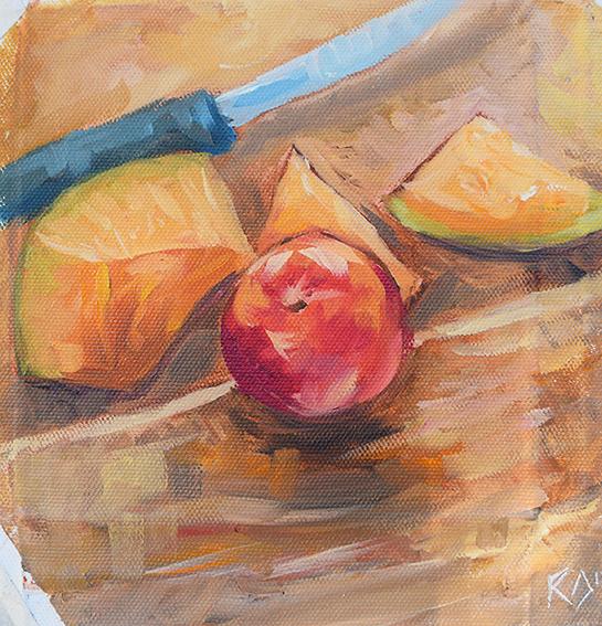 'Melon & Nectarine'