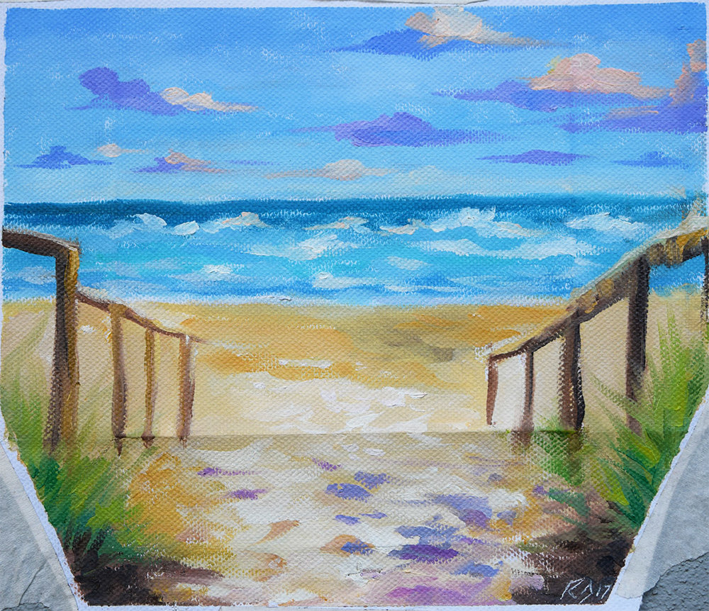'Path To The Sea'