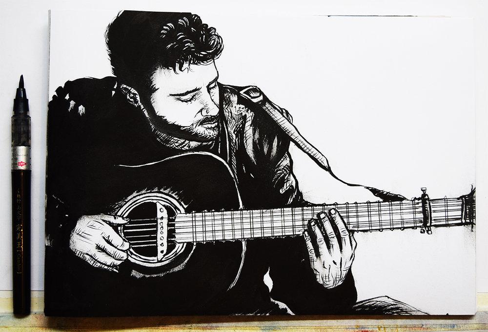 'The Guitarist'