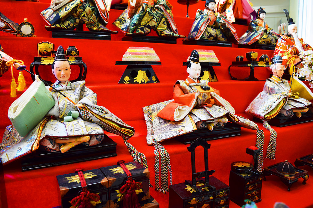 japanese royalty dolls 2 - robbieallenartist