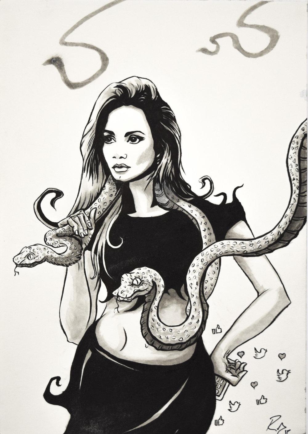 'Gatherer of Snakes'