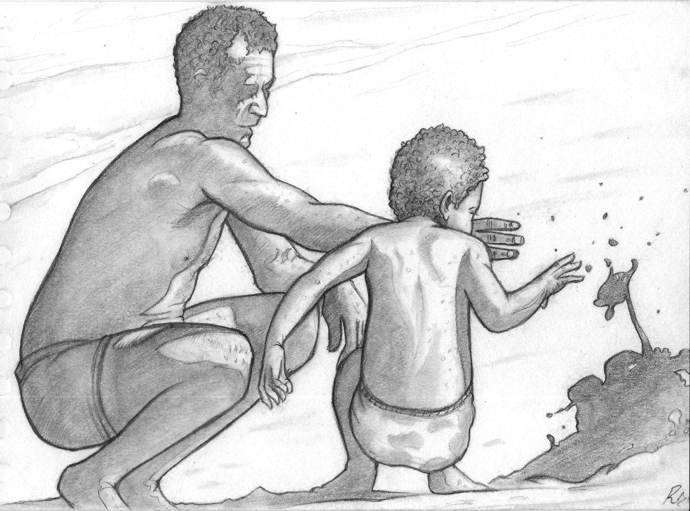 Father & Son - small - robbieallenartist.jpg