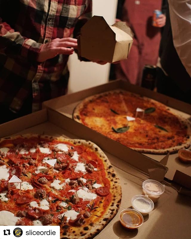 "We have an app but we a actually like catching up with you all when you phone order and hopefully our mediocre chat will enrich your day until your pie arrives. . Community pizza service of sorts..... seeing you all through the good times and the bad with simple ingredients, respect & appreciation. . For the love of pizza x . #Repost @sliceordie with @get_repost ・・・ We are more than a blog or a clothes shop. We are a club. A club for people who love good fuckin' pizza. That's why it's great Edinburgh has legends like @civerinos_slice who can deliver their iconic 20"" pies to our pizza parties. Last week the club had a Red Dead Redemption poker & pizza party. The poker may have ended in lyin', cheatin' and whole mess of whiskey, but the pizza was 🔥🔥🔥!! Not much beats the iconic Civerinos pie (fries and house sugo ABSOLUTELY essential). Fuck domino's, and order good pizza. . . . . #pizzaparty #rdr2 #poker #reddead #civerinos #civerinosslice #deathbeforedominos #pizzaclub #pizza #pizzablog #eatpizza #slice #pizzaslice #sliceordie #pizzaordie #pizzeria #pizzalove #pizzaoftheday #edinburgh #edinburghbloggers #margherita #pepperoni #foodblog #scotland"