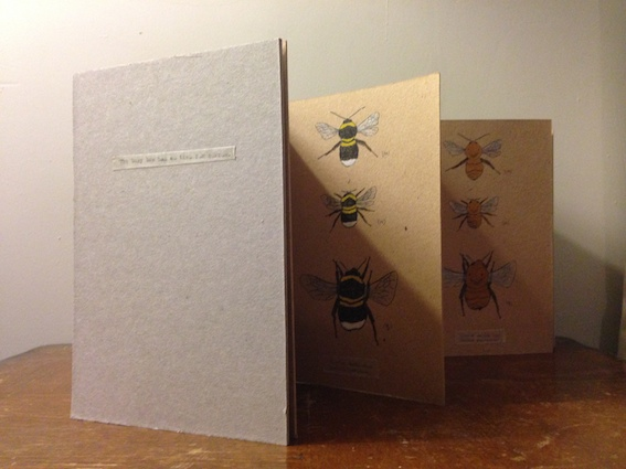 The busy bee has no time for sorrow - Artist's book