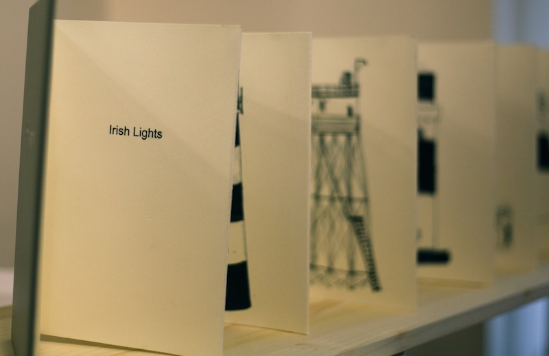 Irish Lights - Artist's book