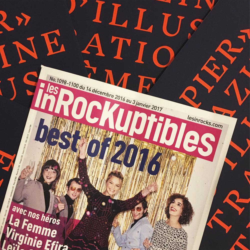 """"""" Où est le cool ? """" : Parution de Papier Magazine dans les Inrockuptibles."""