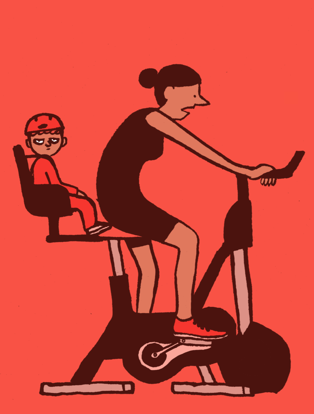 ↑  Une illustration de Jean Jullien