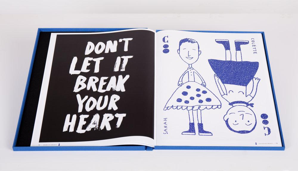 Papier Magazine N4, l'illustration de Marcus Kraft et Soledad Bravi