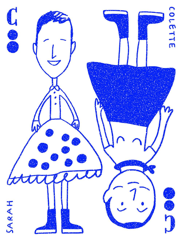 ↑ Une illustration de Soledad Bravi