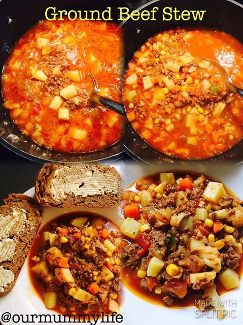 Ground Beef & Veg Stew
