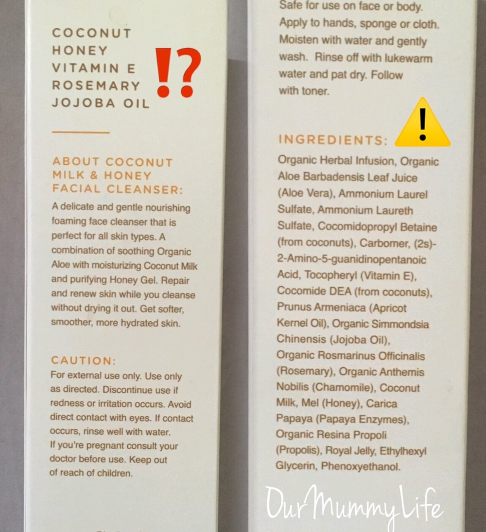 Please research what you are putting on your skin!!!!! Don't be fooled by the front of the box or label.