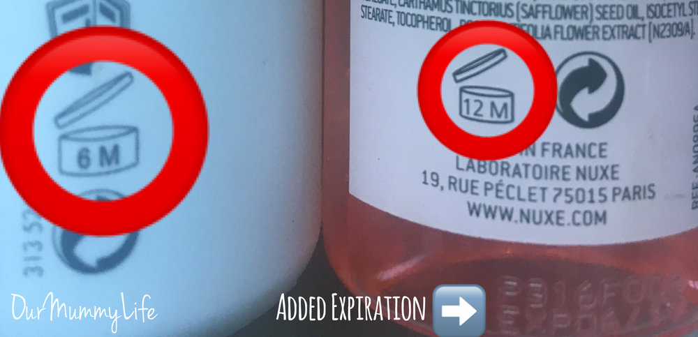 Word of caution!!! No mater what the time frame, if your product ever changes in color, texture, or smell please place in the garbage immediately.