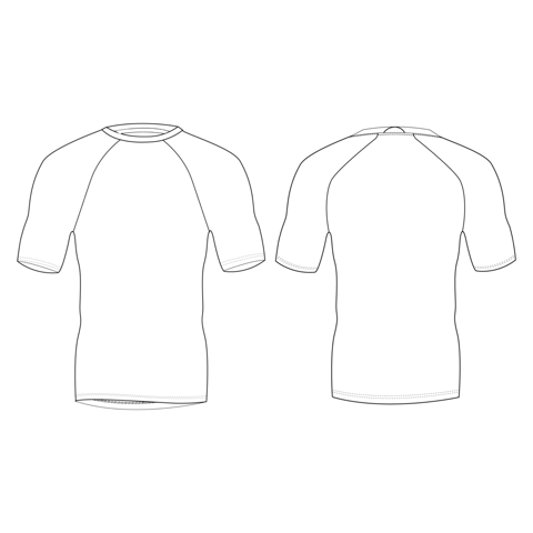 Fitted Short Sleeve Shirt