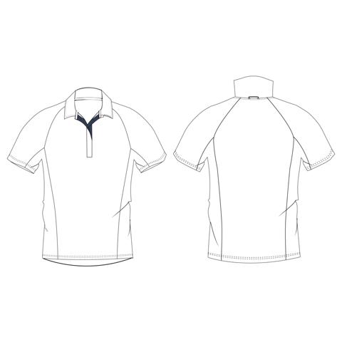 T-shirt manches sans manche, ajusté Polo