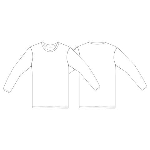 T-shirt manches longues, standard