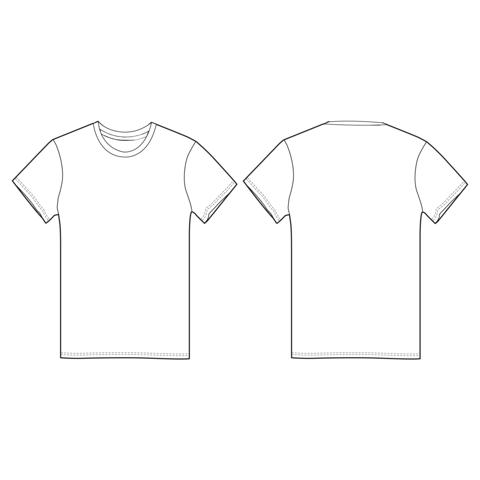 T-shirt manches courte, standard