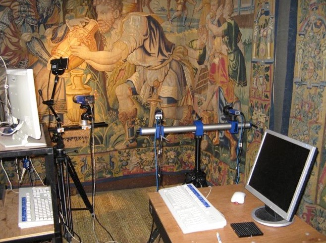 Golden Age to the Digital Age - This 3-year project, led by Frances Lennard and funded by the Leverhulme Trust, focuses on conservation and display of tapestries.  The Centre's partner is the University's Engineering Dept.  and  uses digital image correlation and other techniques to monitor the effect on tapestries of display and of different conservation techniques.