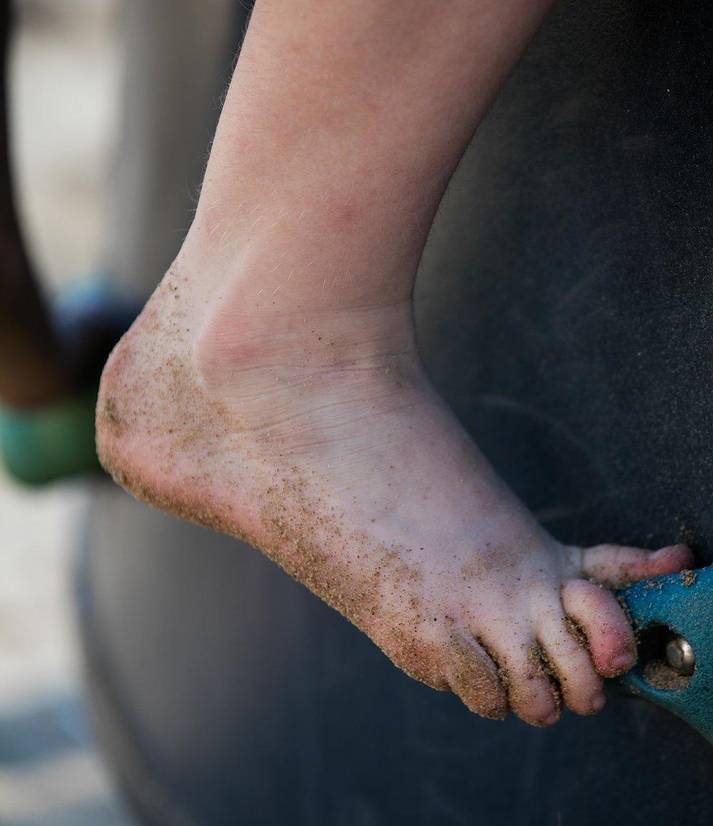 Children's Growing Feet
