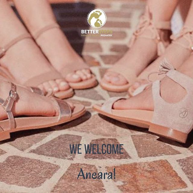 Today we have become the first stockists of Aneara sandals! Aneara design sandals with hidden support for teens and preteens (and women!), sizes 34-40 @aneara_au #betterstepspodiatry #teensandals #shoesforkids #podiatry #feet #kidsfeet #brisbanepodiatrist #whereexperiencematters #orthotics #biomechanics #bulimba #bulimbabusiness #hawthorne