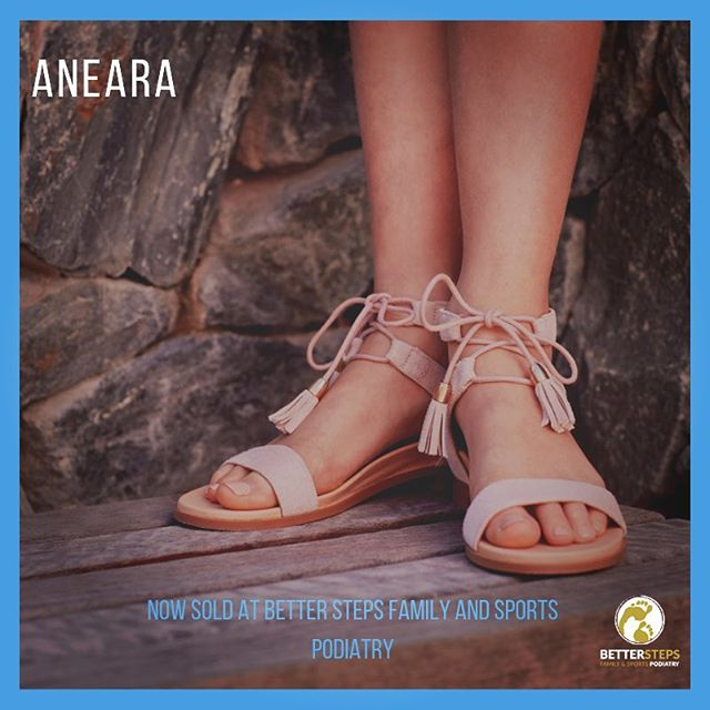 Look at these beautiful sandals! For our teens and pre-teens. We also love them for adults as they go up to a size 40! @aneara_au #betterstepspodiatry #podiatry #brisbanepodiatrist #bulimbabusiness #sandals #sandalsforteens #feet #orthotics #healthyfeet #biomechanics #bulimba #hawthorne