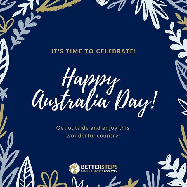 Happy Australia Day! Enjoy your day everyone! #betterstepspodiatry #podiatrist #podiatry #brisbanepodiatrist #bulimbapodiatry #bulimbapodiatrist #bulimbabusiness #bulimba #hawthorne #australiaday #running #biomechanics #kidsfeet