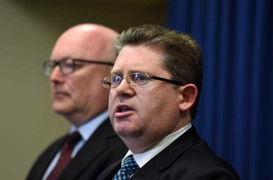 Attorney-General George Brandis (left) and Special Minister of State Scott Ryan need to work together to reform foreign donations laws. AAP/Dan Peled