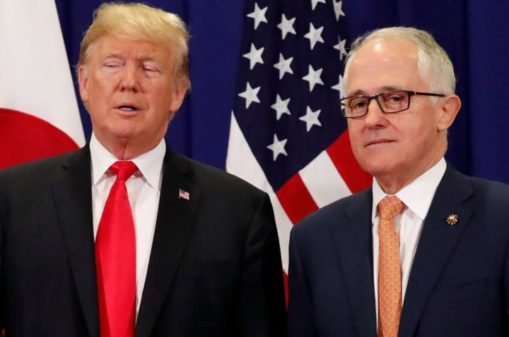 Malcolm Turnbull will be relieved to have some time away from the Barnaby Joyce affair when he arrives in Washington this week. Reuters/Jonathan Ernst