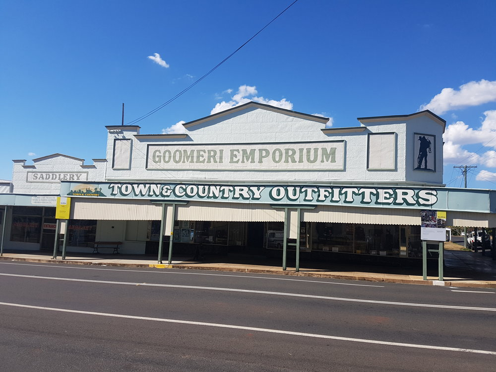 Goomeri saddler! Country emporium ...and it has a saddlery!