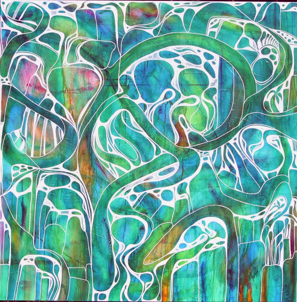 SOLD - Green Fig