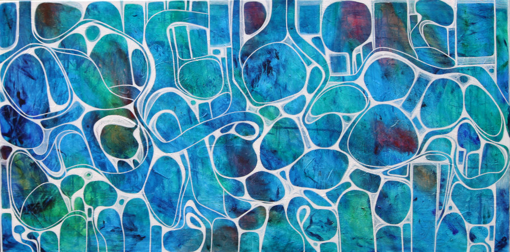 Sublime Waters 152 x 76 cm