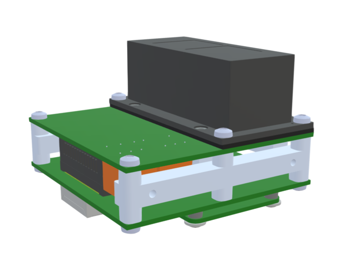 Illustration of the SRE3020 camera module.