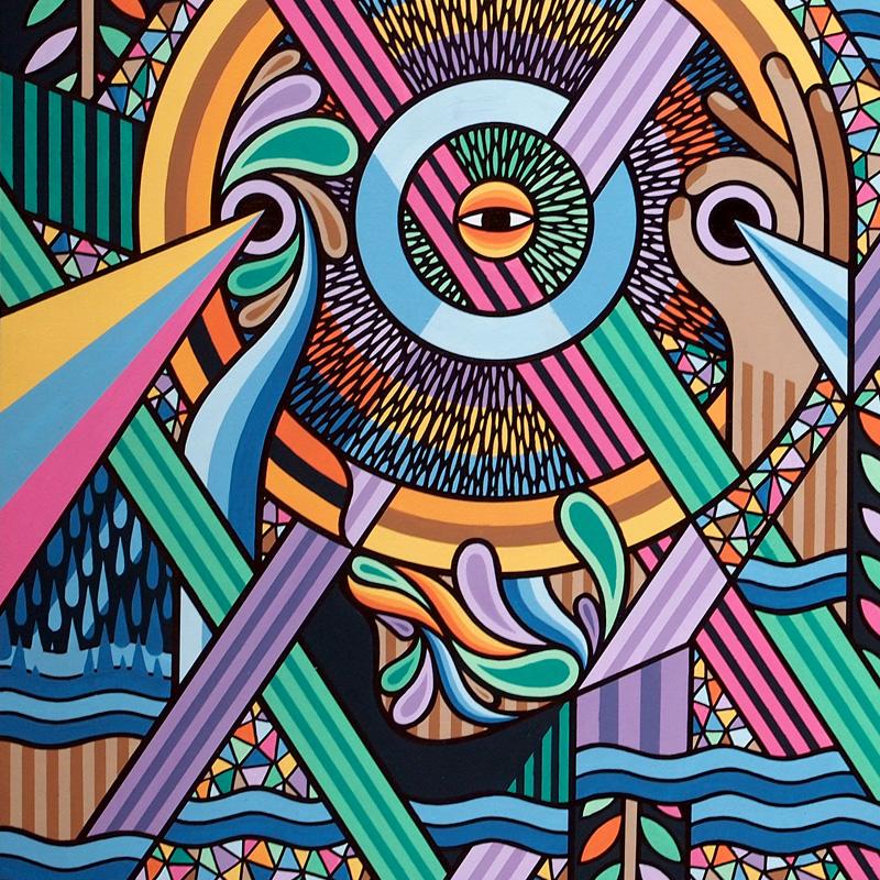 'Visions of Primordial Evolution' (Detail)