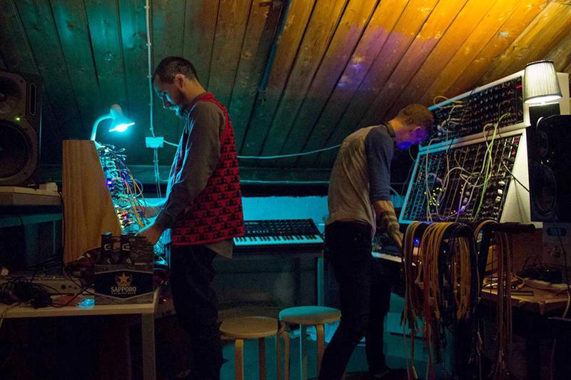 Live electronic music by Otis Chamberlain