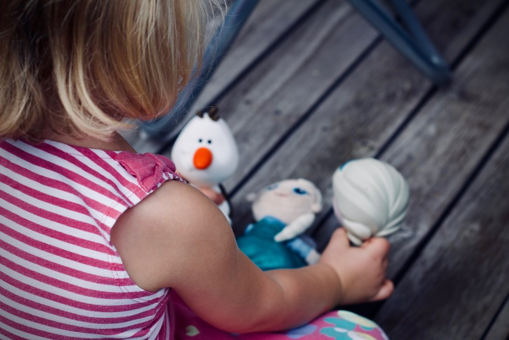 Modelling with toys is a great way to engage your child with their feelings and problem solving.