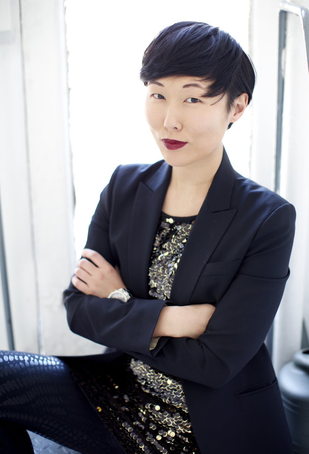 cleo gray - is an actor, producer, and activist born in South Korea and raised in New Jersey. She was a member of The Flea Theater's resident acting company (2011-2016), The Bats, and was a co-producer of the hit late night series #serials@theflea (2014-16) alongside Crystal Arnette.  Cleo's credits at The Flea include the World premieres of a The Place We Built by Sarah Gancher directed by Danya Taymor; a cautionary tail by christopher oscar peña; Thomas Bradshaw's JOB (both directed by Benjamin Kamine), and Qui Nguyen's She Kills Monsters (directed by Robert Ross Parker), as well as the NYC premieres of the critically acclaimed and Drama Desk nominated These Seven Sicknesses by Sean Graney and Amy Freed's Restoration Comedy (both Drama Desk nominations for dir. Ed Sylvanus Iskandar). She has also appeared at the Flea in workshops and readings for Robert Askins, A. Rey Pamatmat, Krista Knight/Barry Brinegar,  Tommy Smith, Anson Mount and Lauren Yee as well as 50+ short plays for #serials. Other New York credits include the World Premiere of Ma-Yi Theatre Co's Soldier X by Rehana Lew Mirza, directed by Lucie Tiberghien; Ivy Theatre Co.'s DONKEY PUNCH by Micheline Auger (Soho Playhouse), Empire Travel Agency (Woodshed Collective), Youngblood's Asking For Trouble ('12 – '16) @ The Ensemble Studio Theatre) as well as numerous workshops and readings with Ma-Yi, EST, Woodshed Collective, Studio 42, Labyrinth, Clubbed Thumb, Lark Play Development, New Georges, Ars Nova, Target Margin, New Dramatists and the Jewish Plays Project. BFA in Acting from Montclair State University.
