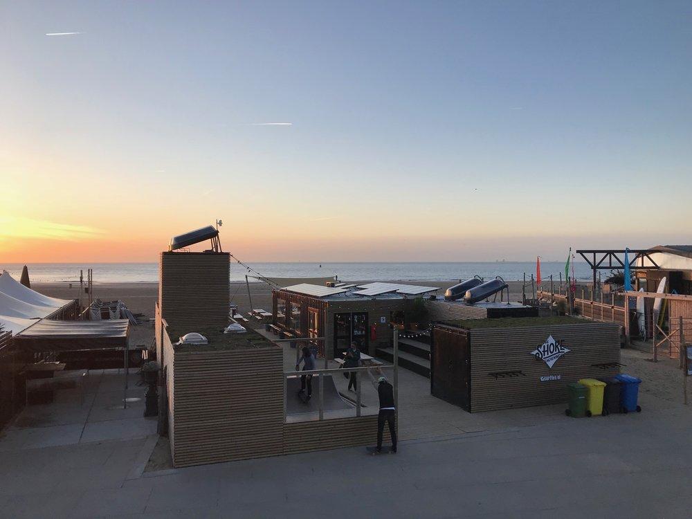 De duurzaamste strandtent van Scheveningen -