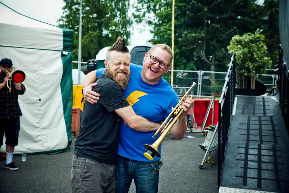 Matt & Johnny (Reel Big Fish - Slam Dunk Festival 2018)