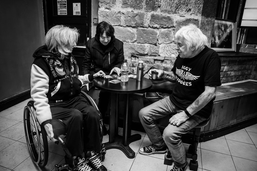 UK subs (with ex member Mal)