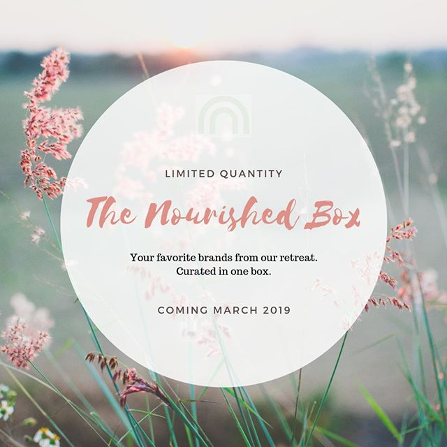 Loved the brands at our last wellness event on Feb 2nd and want more? 🙋🏿🙋🙋🏽Well we've negotiated special pricing and are releasing a limited edition Nourished box this March!  We have curated a box with products we love and vouch for!  We are only creating a few boxes, so send us a DM or email us at hello@nourishedretreat.com to get on the waiting list. You'll be the first to know as soon as more details are released. 💌⠀ ⠀ Couldn't make it to the event?  Well this is your chance to experience the best our Marketplace had to offer. 💖 ⠀ ⠀ #nourishedretreat #wellness #subscriptionbox #curated #marketplace #nyc #nutrition #treatyoself