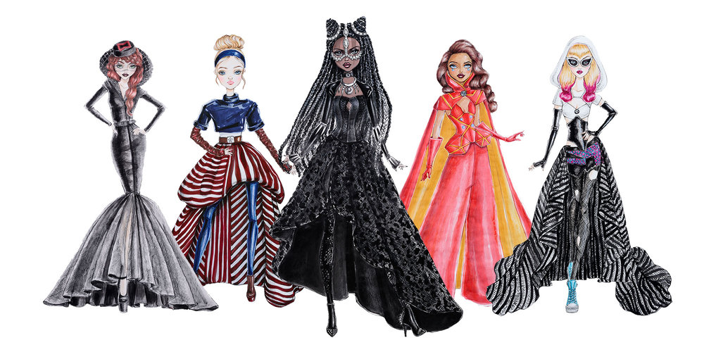 MARVEL FAN GIRL DOLLS  de Madame Alexander 1494426159788