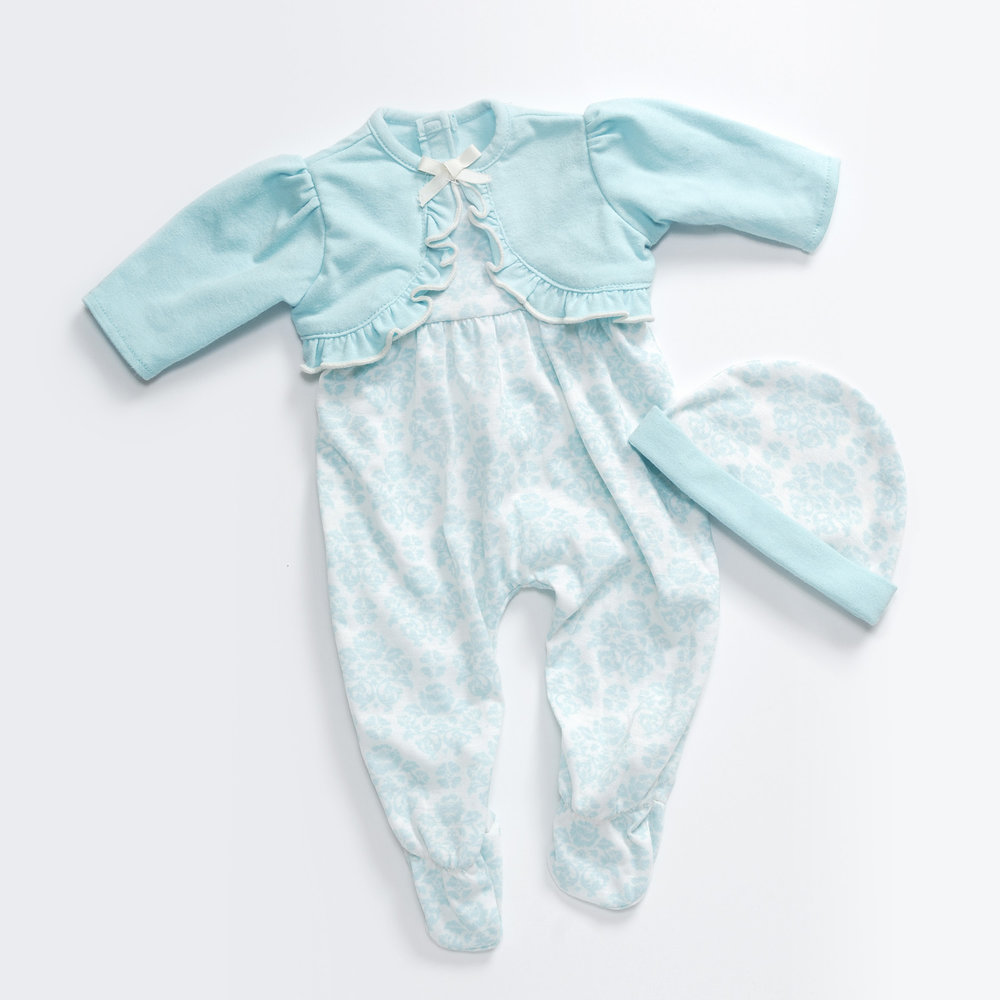 Blue Belle Layette