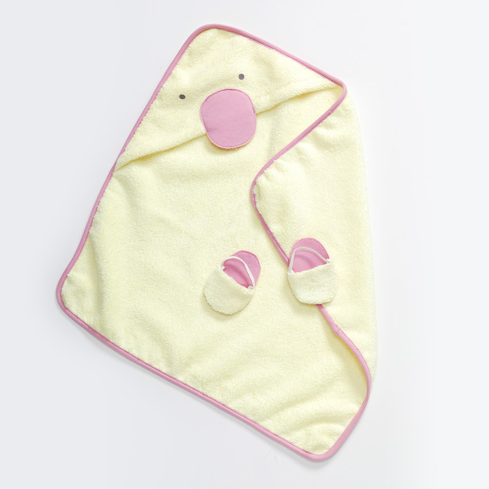 Little Duckie Bath Set