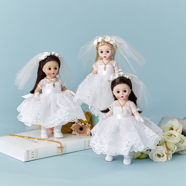 Celebrate a meaningful part of growing up: make an important day extra special with our beautiful First Communion Blessings doll from our Celebrations Collection. Visit our website to find out where to buy online or at a retailer near you!