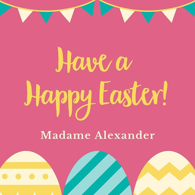 Wishing you and your family a very Happy Easter! 🐰🐣💕