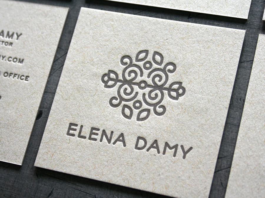 Elena Damy Business Cards — STUDIO ON FIRE