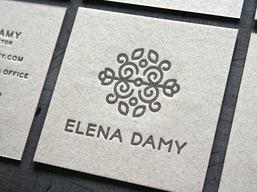 Elena Damy Business Cards — STUDIO ON FIRE