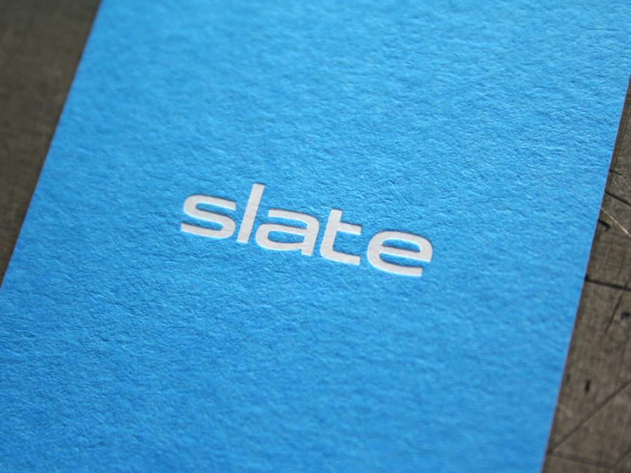 Slate Business Cards — STUDIO ON FIRE