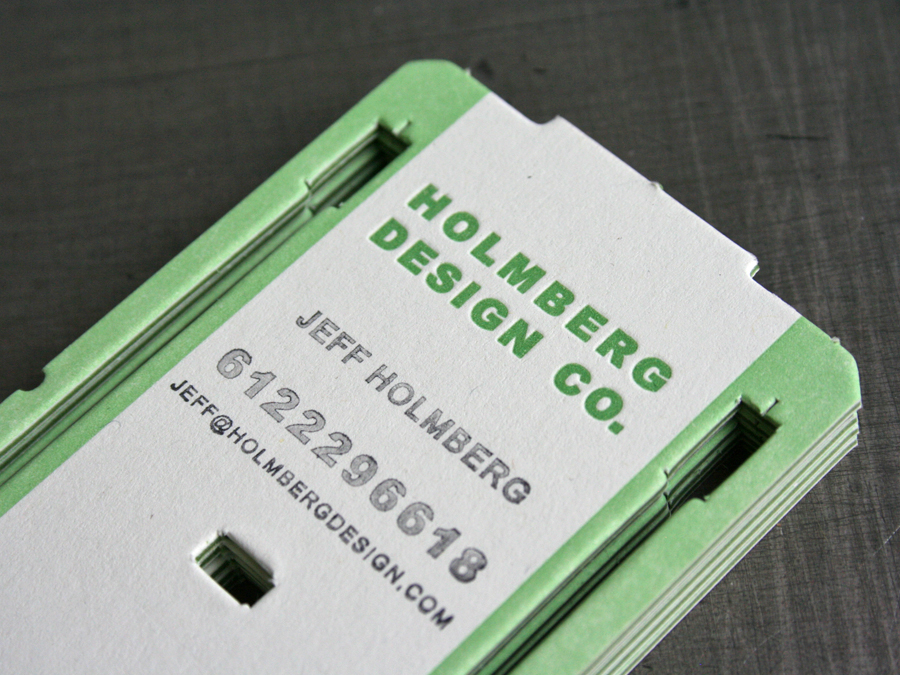 Holmberg Business Card — STUDIO ON FIRE